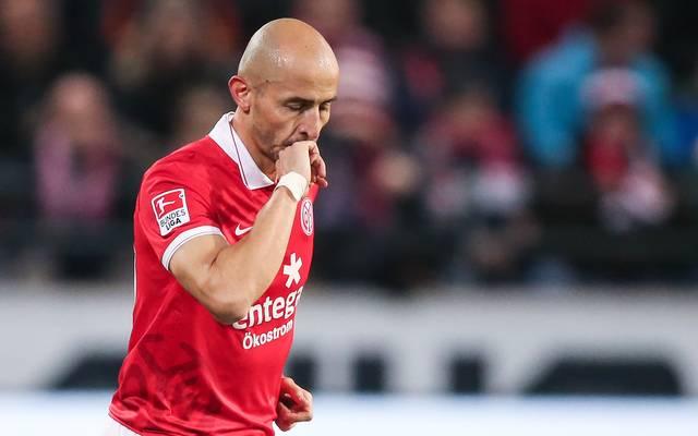 Elkin Soto wechselte 2007 zum 1. FSV Mainz 05 (hier v FC Bayern Muenchen - Bundesliga)