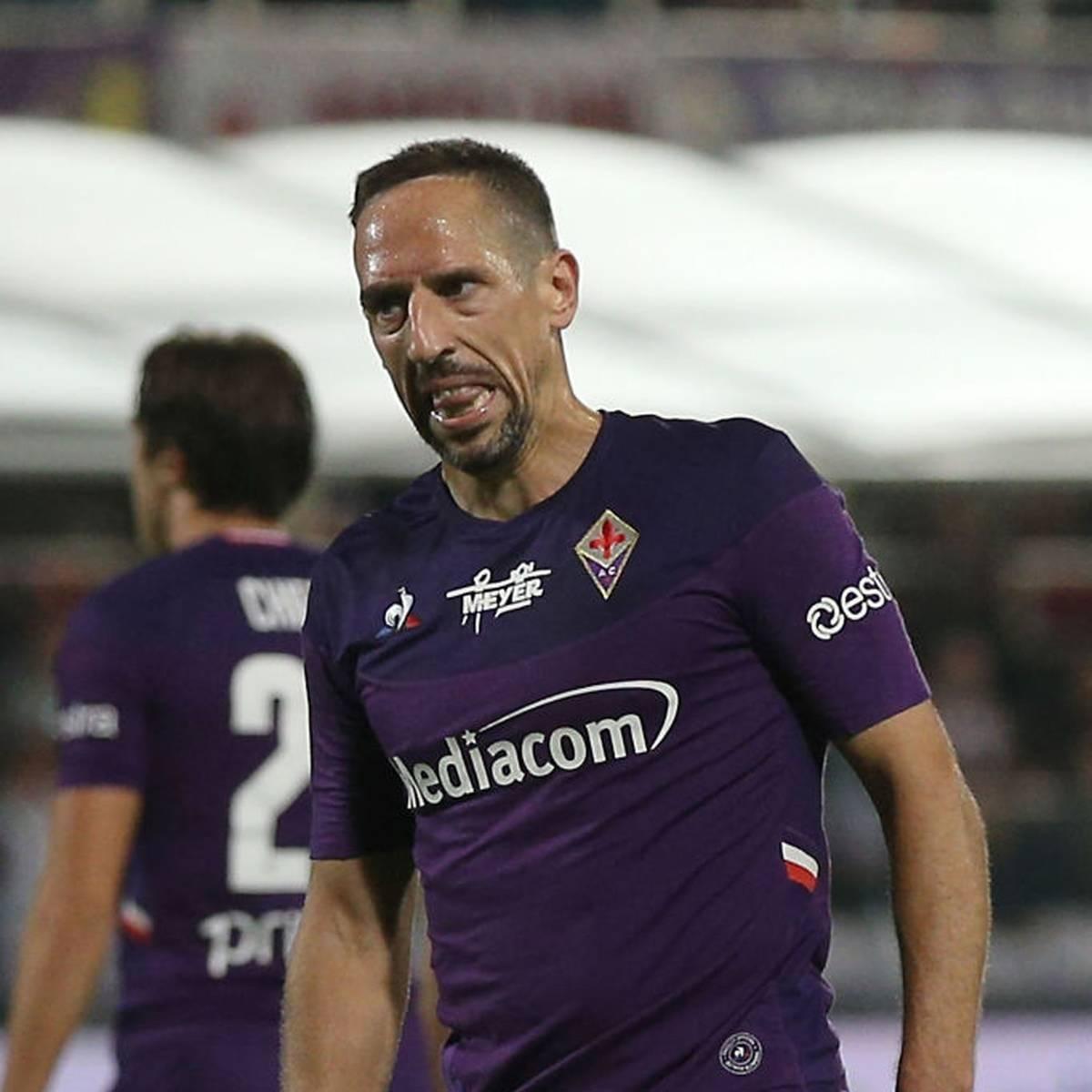 Ribérys schwere Zeit in Florenz