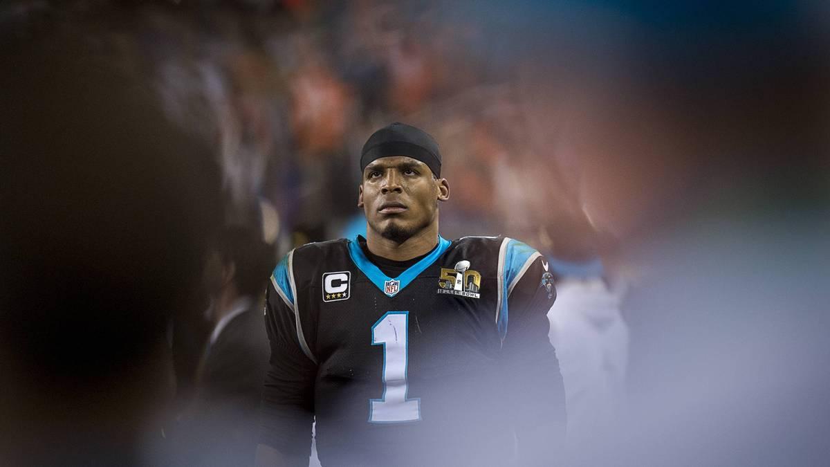 Cam Newton unterlag mit den Panthers im Super Bowl den Denver Broncos