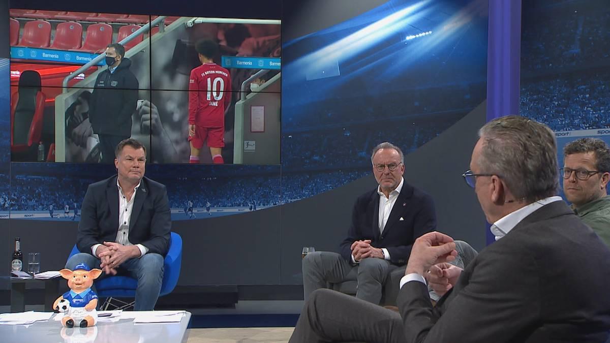 Karl-Heinz Rummenigge fordert im CHECK24 Doppelpass ein Umdenken von Leroy Sané. Der Vorstandsvorsitzende der Bayern glaubt aber an eine große Zukunft von Sané.