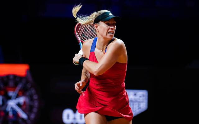 Angelique Kerber ist beim WTA-Turnier in Stuttgart ausgeschieden