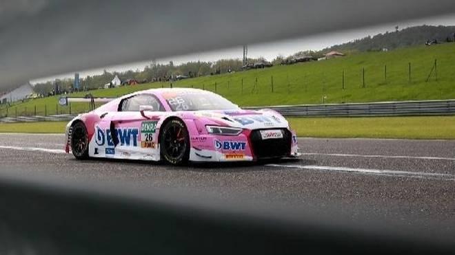 Jeffrey Schmidt stellte den Mücke-Audi auf die Pole des ersten Rennens
