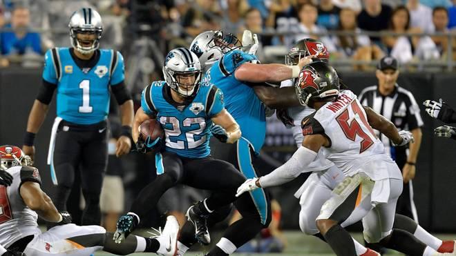 Panthers scheitern an einem Yard