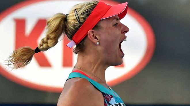 Angelique Kerber steht bei den Australian Open in der zweiten Runde