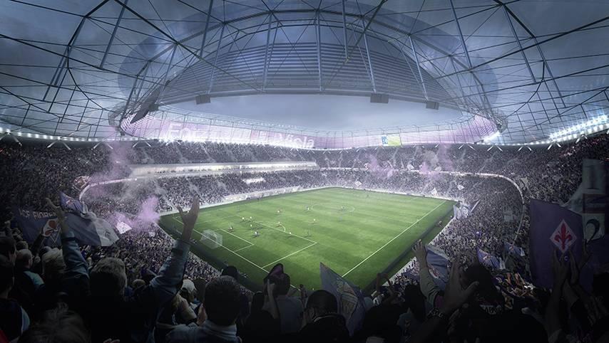 Die italienische Serie A steht größtenteils für alte, dringend renovierungsbedürftige Stadien. Der AC Florenz will dazu beitragen, dass dieses Image schnell der Vergangenheit angehört - und plant daher den Bau einer neuen Arena