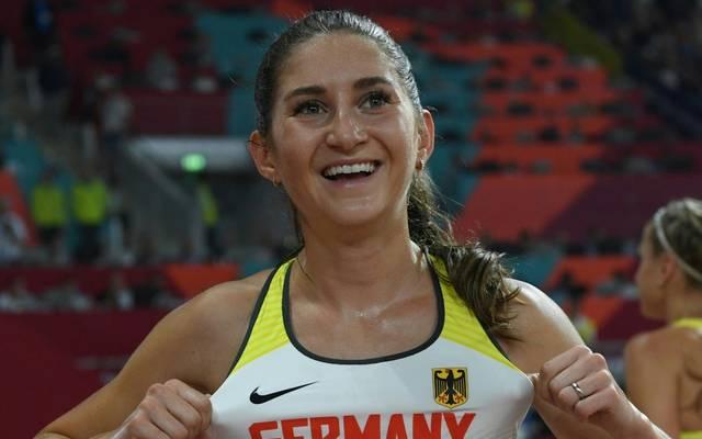 Gesa Felicitas Krause gewinnt in Dortmund