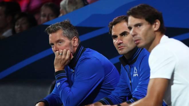 Rafael Nadal (r.) heiratet - aber Roger Federer ist nicht unter den Gästen