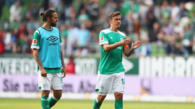 Martin Harnik (l.) wechselte im Sommer 2018 von Hannover 96 zu Werder Bremen