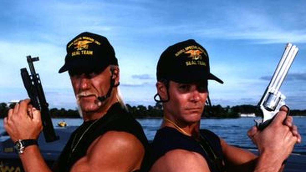 "Hulk Hogan spielte bei ""Thunder in Paradise"" im TV mit Chris Lemmon, Sohn von Hollywood-Legende Jack Lemmon"