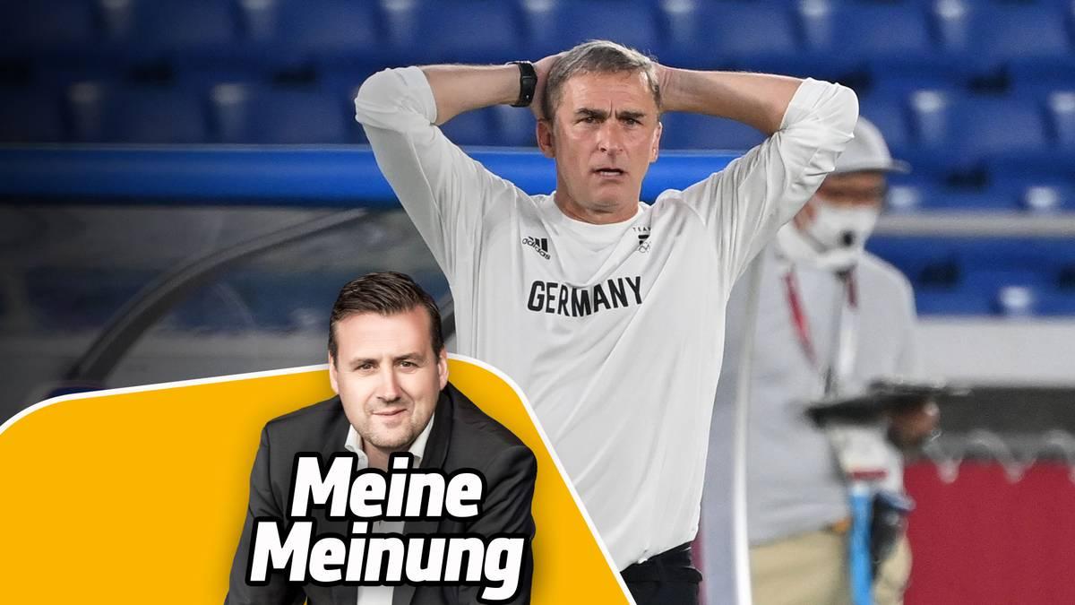 SPORT1-Chefredakteur Pit Gottschalk (v.) hätte Verständnis, wenn Stefan Kuntz als DFB-Coach hinwerfen würde