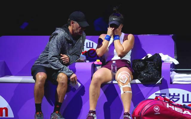 Bianca Andreescu plagen immer wieder Verletzungsprobleme
