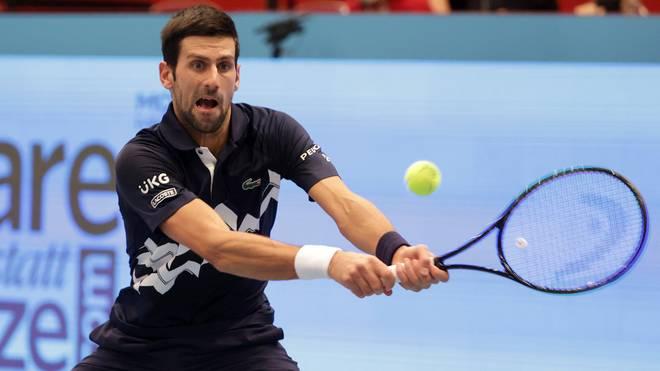 Novak Djokovic ist beim ATP-Turnier in Wien vorzeitig ausgeschieden