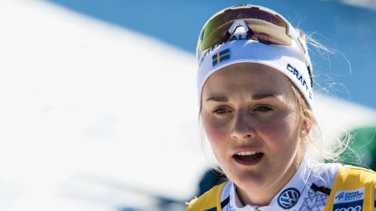 Stina Nilsson belegte bei ihrem Biathlon-Debüt Platz 99