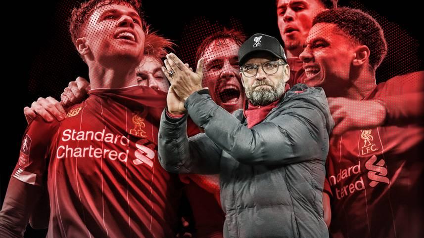 """Der FC Liverpool schreibt auch ohne seine Top-Stars Märchen. Im FA Cup zogen die Reds mit der U19 ins Achtelfinale ein. SPORT1 stellt die von Trainer Jürgen Klopp als """"Kids"""" bezeichneten Talente vor und zeigt, wer schon bald in der Premiere League zu sehen sein könnte"""