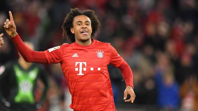 Joshua Zirkzee von den FC Bayern