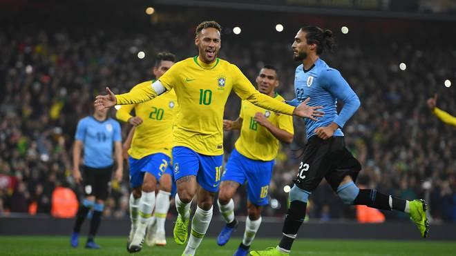 Neymar schießt Brasilien zum Sieg gegen Uruguay per Elfmeter