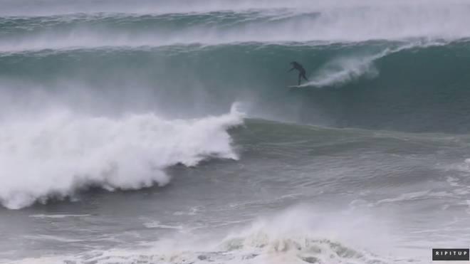 Big Wave Award Bewerbung aus Hossegor ???