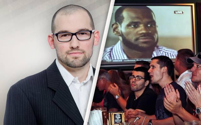 SPORT1-Redakteur Raphael Weber kommentiert den Wechsel von LeBron James zu den Miami Heat vor zehn Jahren