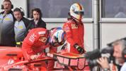 Für Ferrari sprangen in Baku nur die Plätze zwei und vier heraus