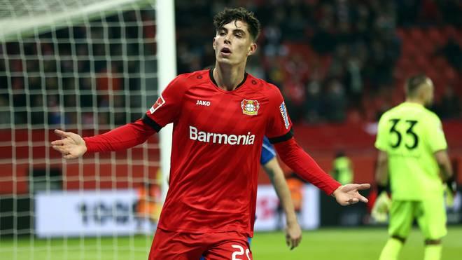 Kai Havertz wird Bayer Leverkusen im Sommer voraussichtlich verlassen