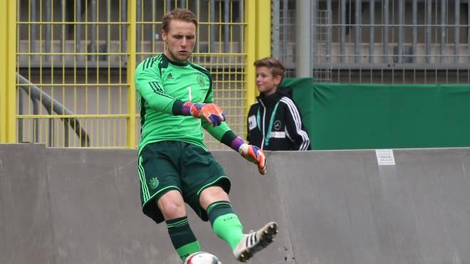 Marius Funk von der U19-Nationalmannschaft