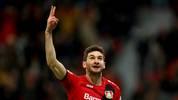 Stürmer Lucas Alario trifft beim Sieg der Leverkusener
