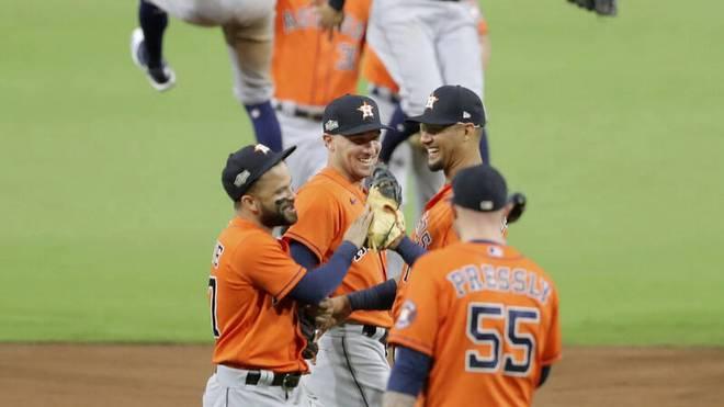 Die Houston Astros haben gegen die Tampa Bay Rays tatsächlich ausgeglichen