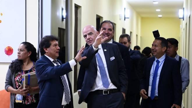 Gianni Infantino hat große Pläne für den afrikanischen Fußball