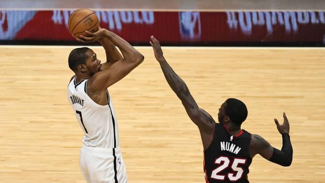 Kevin Durant glänzt für die Brooklyn Nets