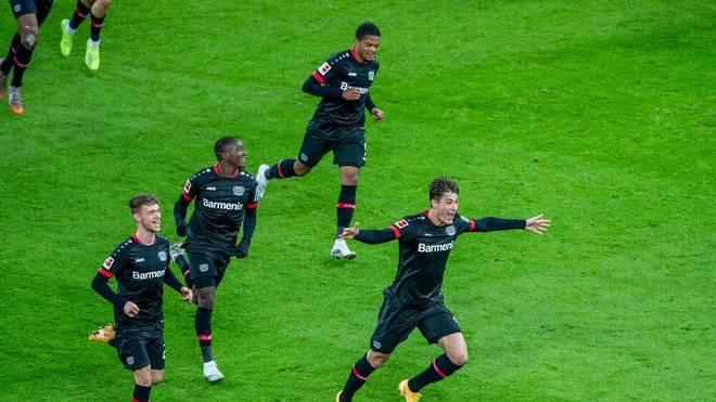 Bayer Leverkusen kann die Tabellenführung zurückerobern