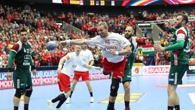 Rene Toft Hansen muss mit Dänemark um das Weiterkommen zittern