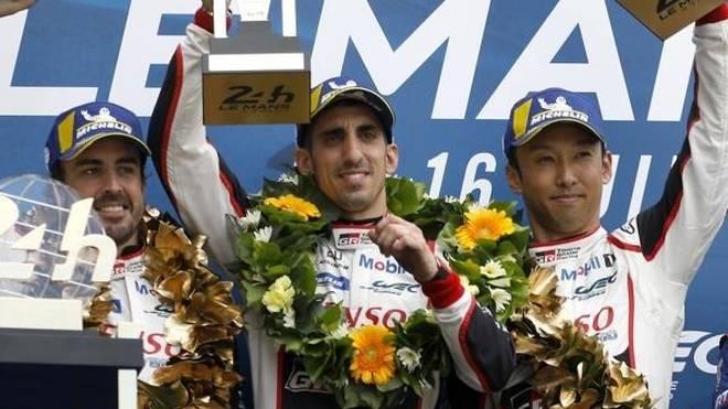 Für Fernando Alonso war Teamkollege Kazuki Nakajima der Mann des Rennens