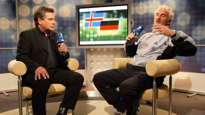 Rudi Völler verlor im September 2003 im TV-Interview die Beherrschung