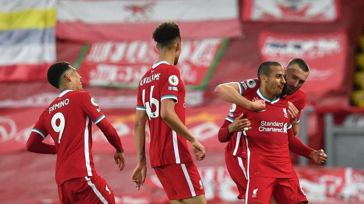 Auch Thiago trifft! Liverpool zurück im CL-Rennen
