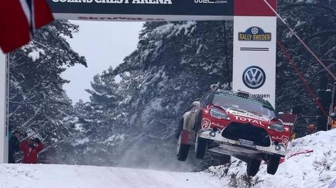 """Der """"Colin's Crest"""" ist eine der gefürchtetsten Sprungkuppen in der WRC"""