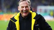 LOTTE, GERMANY - MARCH 14:  Hans Joachim Watzke CEO of Borussia Dortmund before the DFB Cup quarter final between Sportfreunde Lotte and Borussia Dortmund at Sportpark am Lotter Kreuz on March 14, 2017 in Lotte, Germany.  (Photo by Martin Rose/Bongarts/Getty Images)