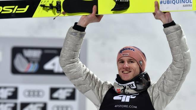 Karl Geiger hofft in Titisee-Neustadt auf seinen dritten Sieg in Serie