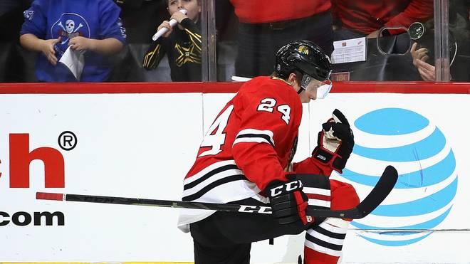 NHL: Dominik Kahun siegt mit Chicago in Torspektakel