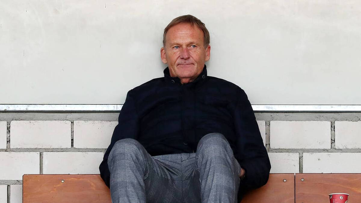 Hans-Joachim Watzke will ein Benefizspiel organisieren