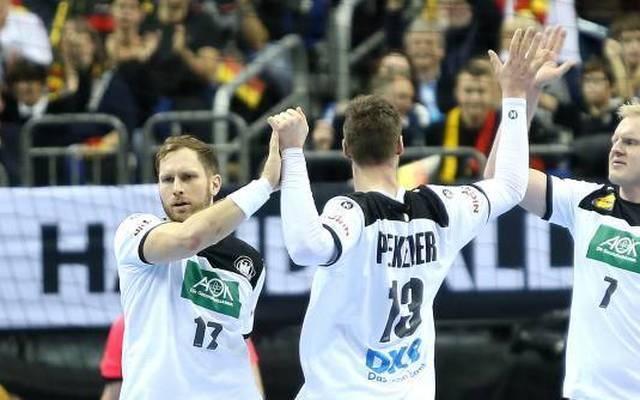 Nach Patrick Wiencek (r.) haben auch Steffen Weinhold (l.) und Hendrik Pekeler für die Handball-WM 2020 abgesagt