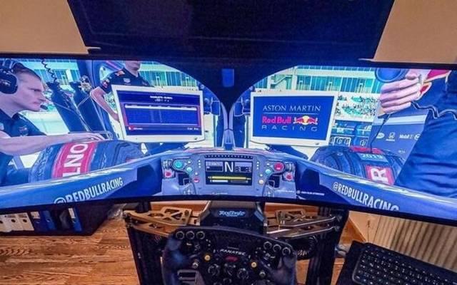 Philipp Eng durfte beim virtuellen F1-Rennen anstelle von Max Verstappen ran