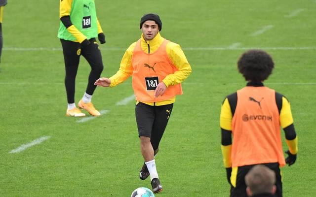 Mahmoud Dahoud im Training des BVB