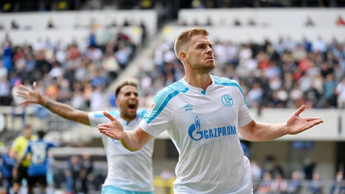 Terodde lässt Schalke im Härtetest jubeln