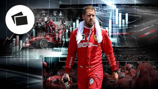 Sebastian Vettel bestreitet an diesem Wochenende seinen zehnten Grand Prix in Deutschland