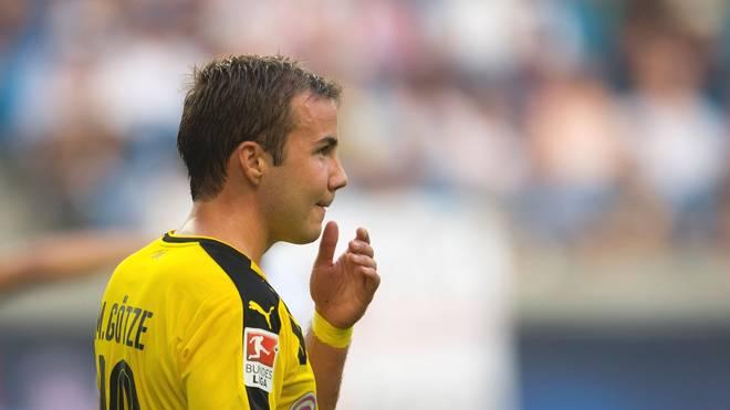 Mario Götze wurde von Borussia Dortmund aus dem Training genommen