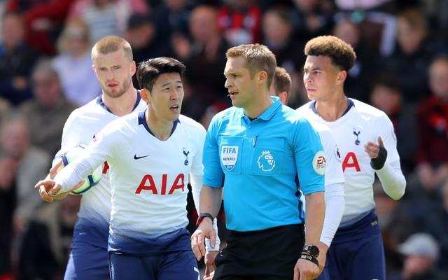 Heung-Min Son sah im Spiel in Bournemouth die Rote Karte