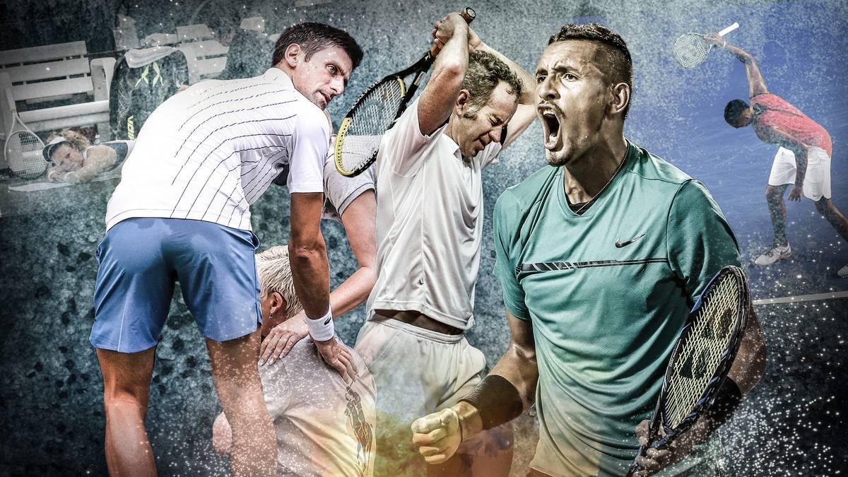 Die Geschichte der Tennis-Eklats ist um ein Kapitel reicher geworden