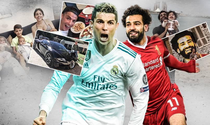 Beim Champions-League-Finale zwischen Real Madrid und dem FC Liverpool in Kiew (Samstag, ab 20 Uhr im LIVETICKER) kommt es auch zum Kräftemessen der beiden größten Tormaschinen Europas: Cristiano Ronaldo und Mohamed Salah