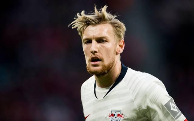 Emil Forsberg sitzt bei Tottenham Hotspur nur auf der Bank