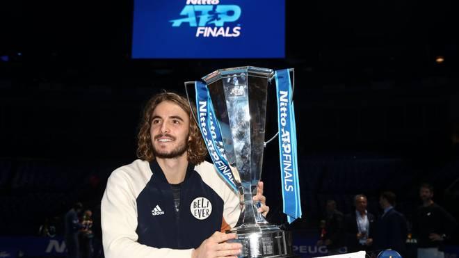 Strebt seinen ersten Grand-Slam-Titel an: Stefanos Tsitsipas